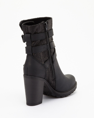 BLACK ALLIES ANKLE BOOT見る