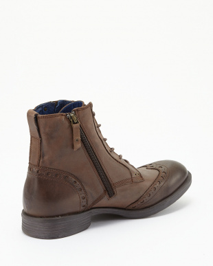 BROWN  ANKLE BOOT CORN見る