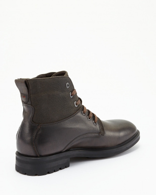 DK BROWN  ANKLE BOOT NEST HAIR見る