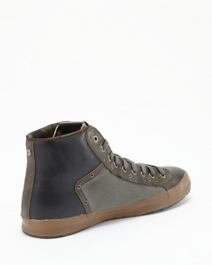 KHAKI BLACK  Mid Cut Shoes BULK見る