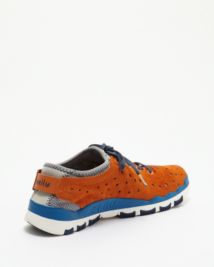 ORANGE/NAVY/VIVID BLUE  ccilu-BANDIT CRANDELL SUEDE見る