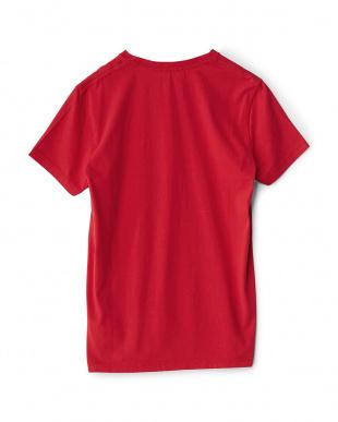 レッド  ロゴTシャツ見る