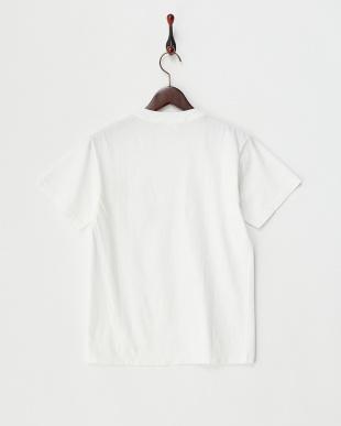 ホワイト  USAコットン プリントTシャツ見る