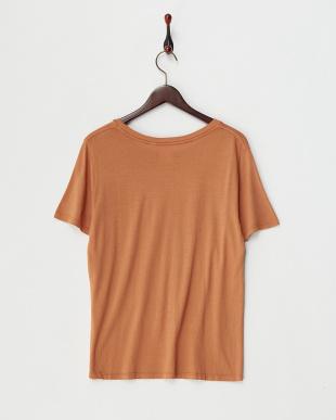 ブラウン  A&J Tシャツ見る