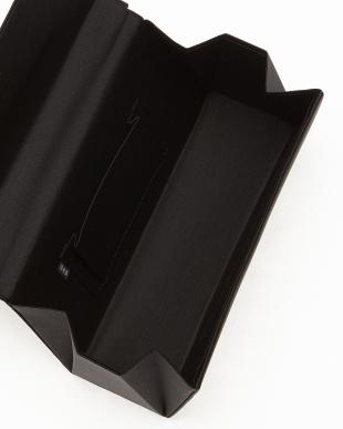 ブラック サテンリボン付きハンドバッグ見る