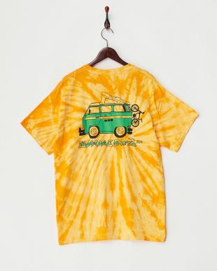イエロー  ウルトラコットン イラストTシャツ見る