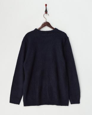 ネイビー  MHR CLAG セーター見る