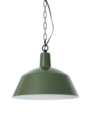 ヴィンテージグリーン  ORDINARY LAMP 3BULB PENDANT LIGHT (電球なし)見る