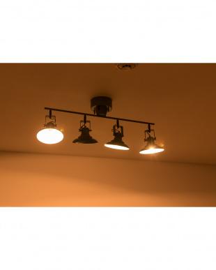 グレー  AVENUE of HAMMER KNOCK_4CEILING LAMP (電球なし)見る