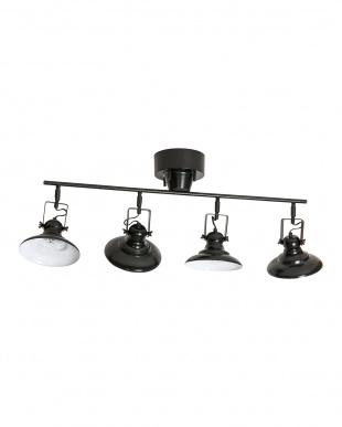 ブラック  AVENUE of HAMMER KNOCK_4CEILING LAMP (電球なし)見る