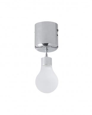 ホワイト LU_LIGHT GLASS BULB 1 LED LIGHT見る