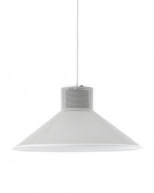 ホワイト ROOS スピーカーライト by Bluetooth (電球なし)見る