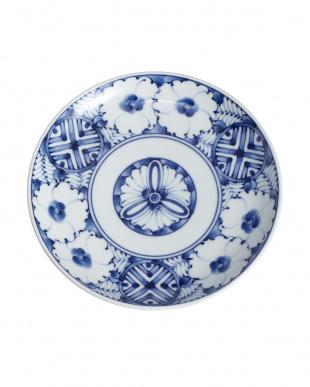 青黛花紋 旨み碗皿見る