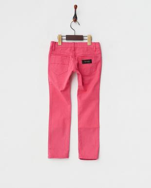 ピンク スタースタッズ パンツ見る