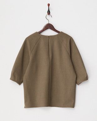 KHAKI  DOUBLE CROSS CABK ZIP TOP見る