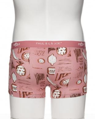ピンク  フルーツボクサーブリーフ見る