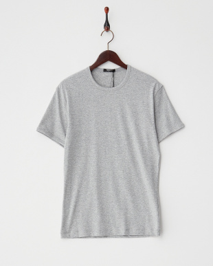 グレー  クルーネックTシャツ見る