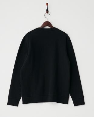 ブラック RMJE0010A15 切り替えクルーネックシャツ見る