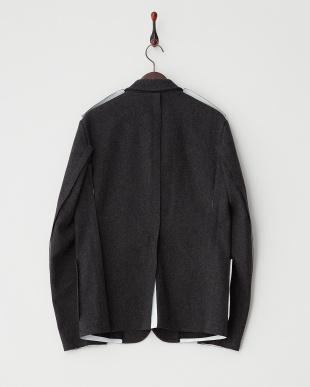 グレー GUMUS04TUY ウールジャケット見る
