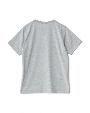 ミックスグレー  ロゴTシャツ見る
