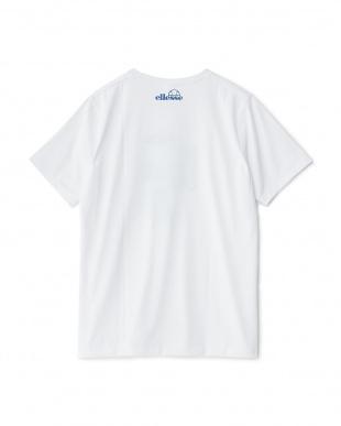 ホワイト1  プリント半袖Tシャツ見る