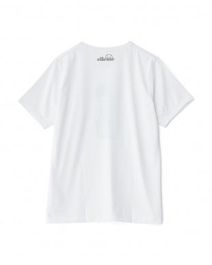 ホワイト2  プリント半袖Tシャツ見る