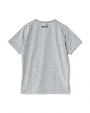 ミックスグレー2  プリント半袖Tシャツ見る