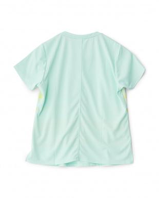 ブルーミント  グラデーションボーダールーズTシャツ見る