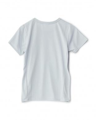 グレーミスト  かすれプリントTシャツ見る