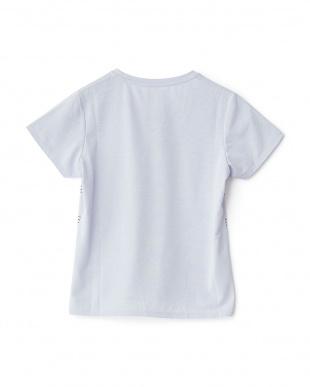 グレーミスト プリントTシャツ見る