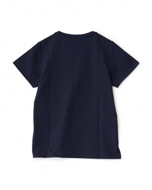 ネイビー ショートスリーブTシャツ見る