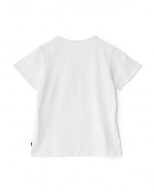 ホワイト  半袖Tシャツ見る