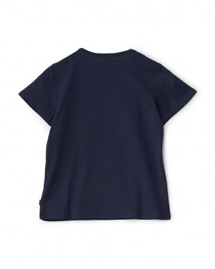 ネイビー  半袖Tシャツ見る