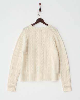 OFF WHITE  ケーブル セーター見る