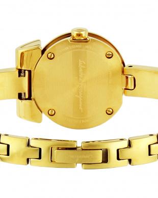 ゴールドカラー  GANCINO BRACELET腕時計 WOMEN見る