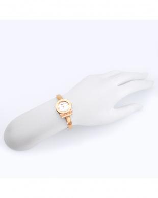 ローズゴールドカラー  GANCINO BRACELET腕時計 WOMEN見る