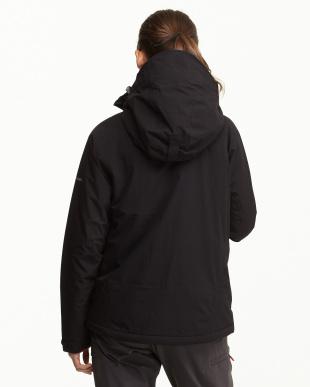 ブラック  中綿ジャケット見る