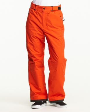 オレンジ  中綿パンツ見る