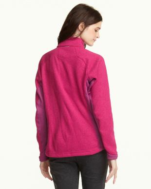 ピンク  フリースジャケット見る