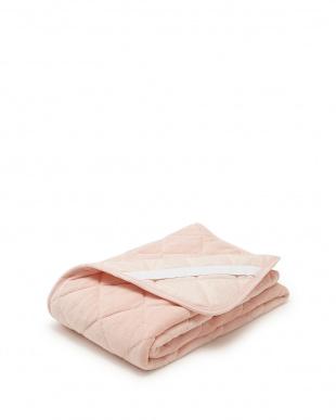 ピンク  サンゴマイヤー やわらか敷きパッドシーツ シングル見る