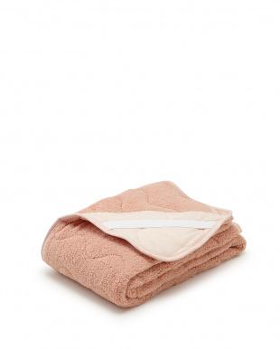 ピンク シープ調 もこもこ敷きパッドシーツ シングル見る