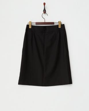 ブラック フォーマルウールスカート見る
