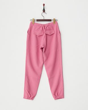 ピンク ウインターカラーパンツ見る