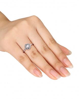フラワーモチーフ ダイヤモンドリング見る