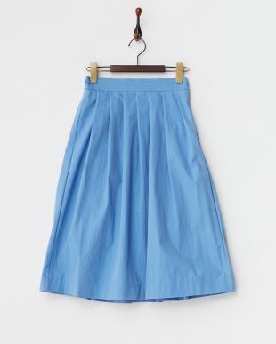 blue  タック入りスカート見る