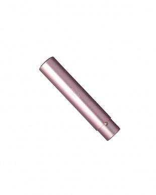 ピンク軸 灰リス携帯用チークブラシ見る