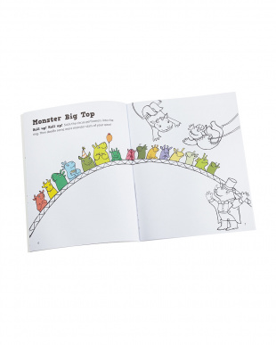 洋書シール付知育ノート「Doodling for Boys-STICK and play」見る
