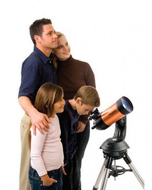 自動導入望遠鏡 NexStar4SE見る