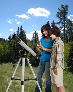 自動導入望遠鏡 60LCM見る