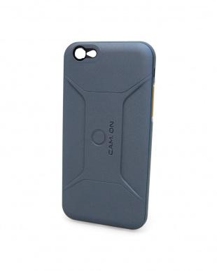 ネイビー  SMART EDITION CASE for iPhone6/6S スマホケース&レンズ セット見る